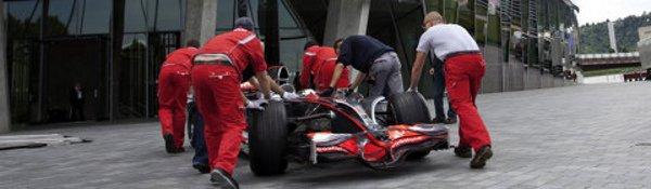 La McLaren championne au musée Mercedes
