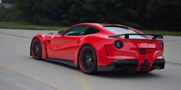 Novitec Rosso booste la Ferrari F12