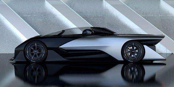 Faraday Future dévoile son concept FFZERO1