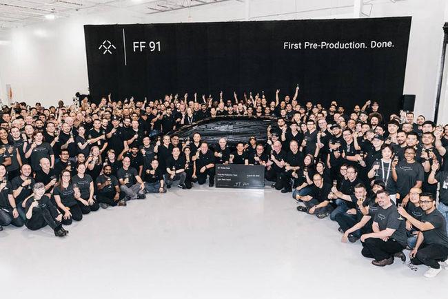 Faraday Future : la FF91 de pré-production est avancée