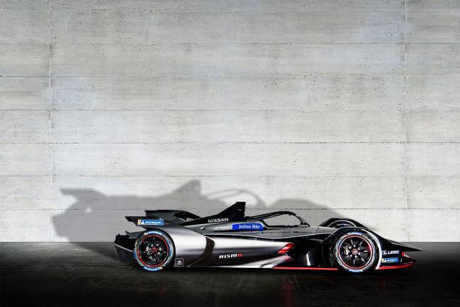 Formula E : Margot Robbie présente la monoplace Nissan