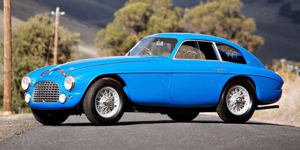 Une rare Ferrari 166MM en vente chez Gooding