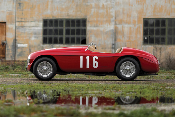 Une Ferrari 166 MM Barchetta chez RM Sotheby's