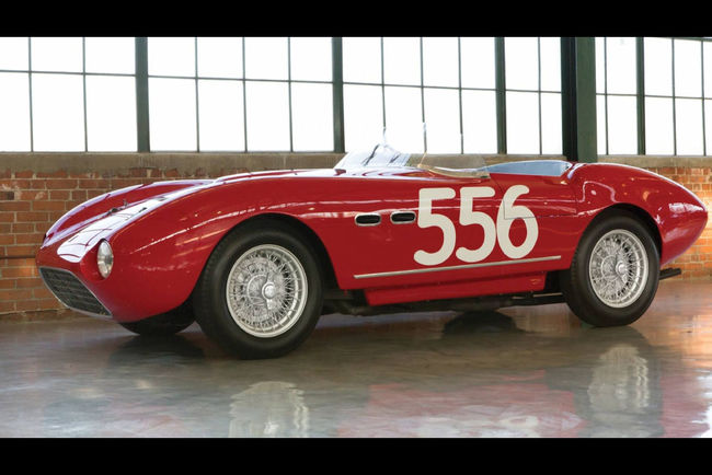 RM Sotheby's : Ferrari 166 MM Spider 1953