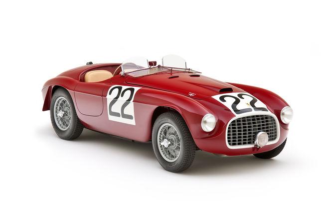 Quatre Ferrari 166MM au Concours d'Élégance d'Hampton Court