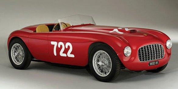 Une Ferrari 166 Spider Corsa aux enchères
