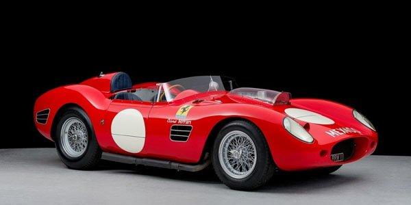 Une Ferrari 196S Dino Fantuzzi en vidéo