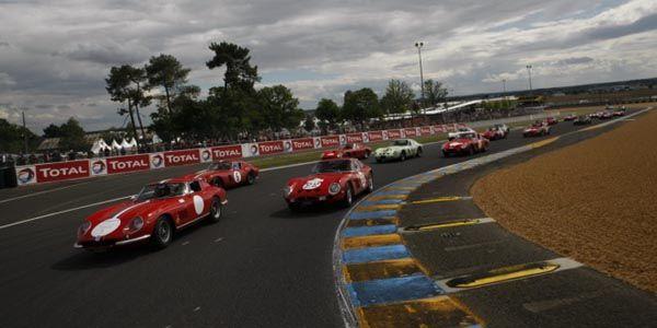 Les Ferrari 250 à la fête au Mans Classic
