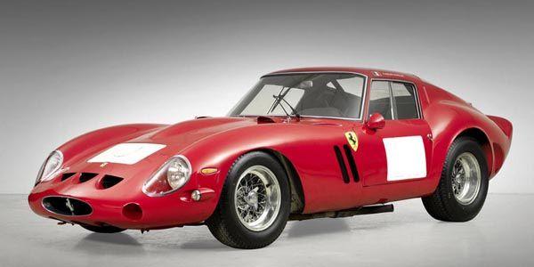 Record battu pour une Ferrari 250 GTO de 1962