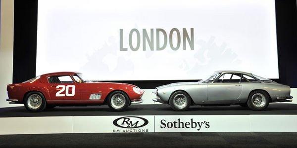 Ferrari brille sur la vente RM Sotheby's de Londres