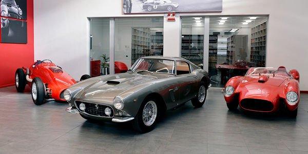 Ferrari restaure une 250 GT SWB Berlinetta Competizione