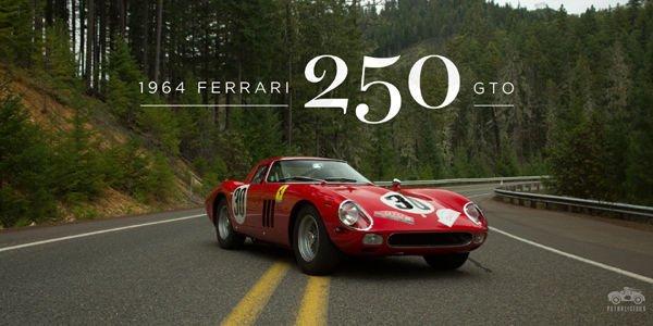Spectaculaire virée en Ferrari 250 GTO