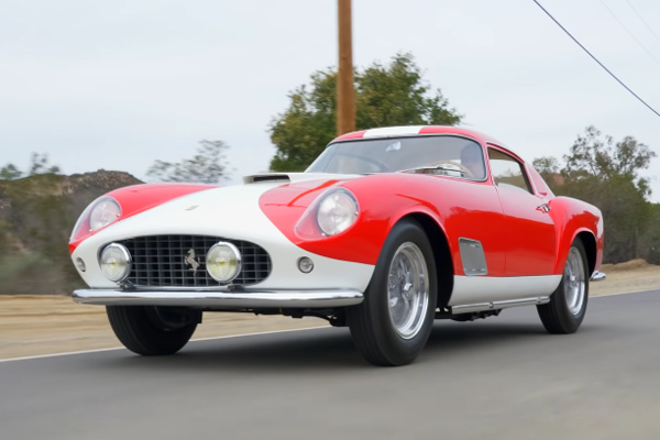 Gooding : Ferrari 250 GT Tour de France Berlinetta 1958