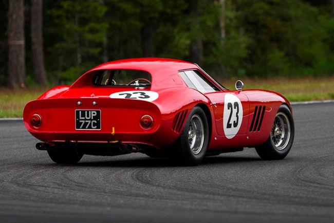 La Ferrari 250 GTO protégée en tant qu'oeuvre d'art