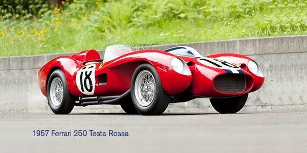 Pebble Beach 2011: Ferrari 250 TR 1957