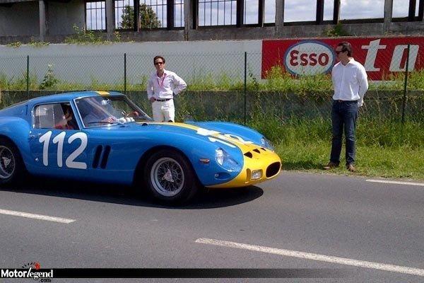 Une Ferrari 250 GTO accidentée