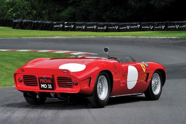 Une Ferrari 268 SP Fantuzzi aux enchères RM Sotheby's de Monterey