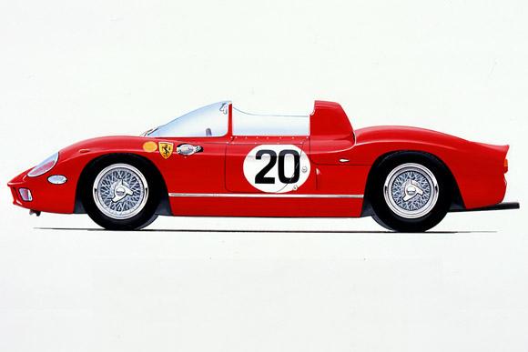 Une exceptionnelle Ferrari 275 P de 1964 aux enchères Artcurial