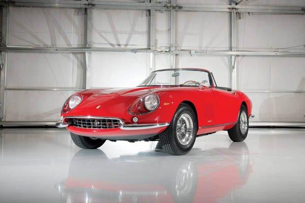 Ferrari 275 Spider : presque un record