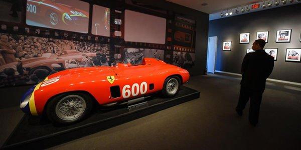 La Ferrari 290MM ex-Fangio adjugée 28 millions de dollars