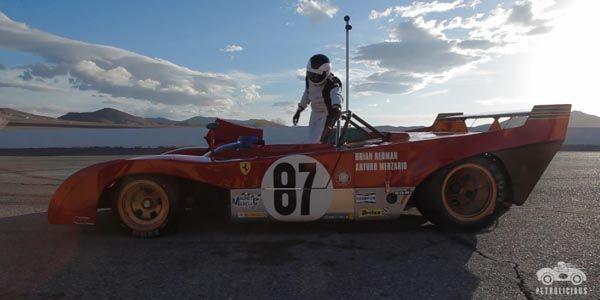 Un tour en Ferrari 312PB avec Petrolicious