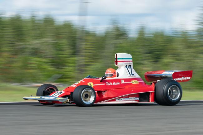 Une Ferrari 312T ex-Niki Lauda aux enchères