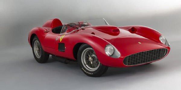 Record mondial pour une Ferrari 335 S à Rétromobile