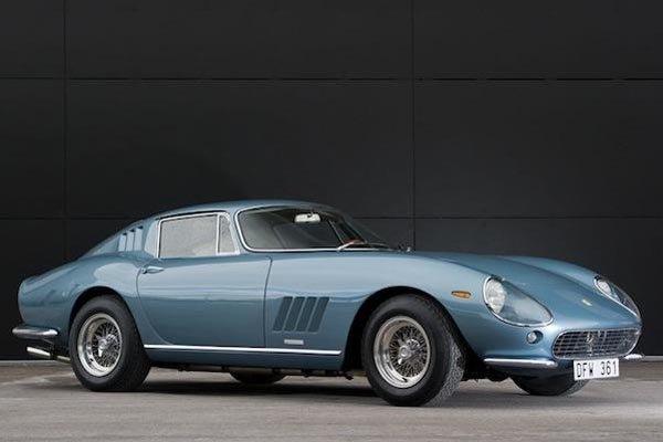 Vente record pour une Ferrari 340/375 MM