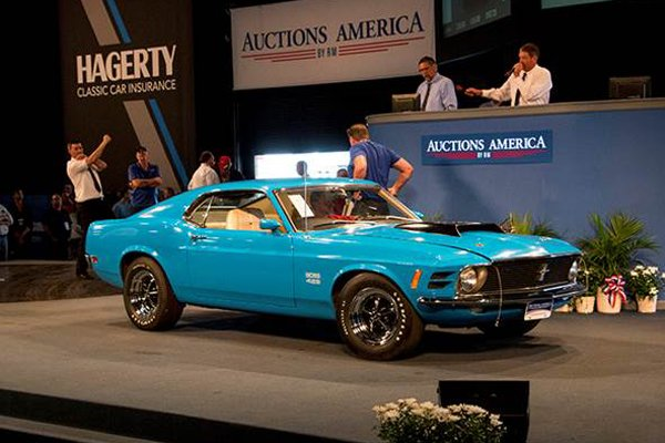 Résultats de la vente Auctions America à Auburn