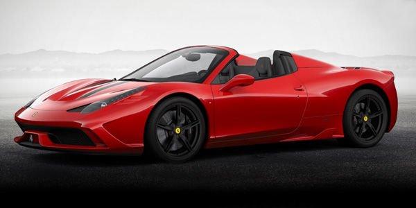 La Ferrari 458 Speciale Spider pour Pebble Beach ?