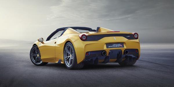 Ferrari dévoile son cabriolet 458 Speciale A