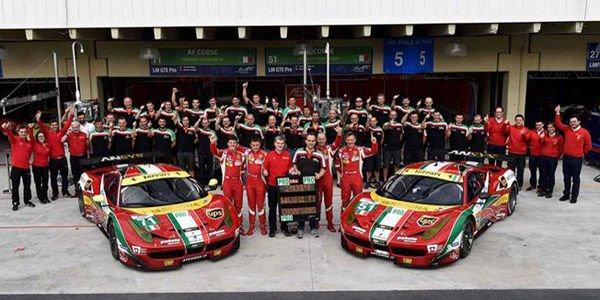 WEC : troisième titre pour Ferrari en GT
