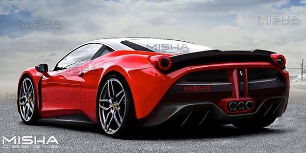Kit aéro pour Ferrari 458 Italia par Misha Designs
