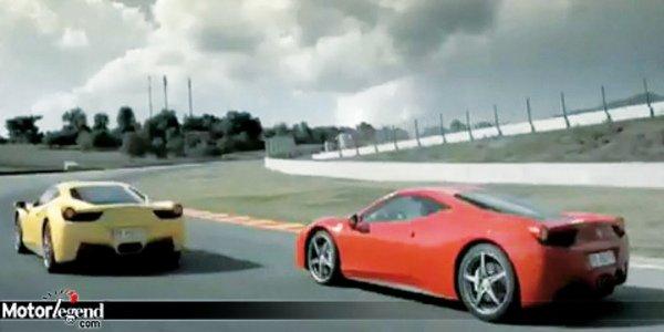Ferrari 458 Italia sur le Mugello