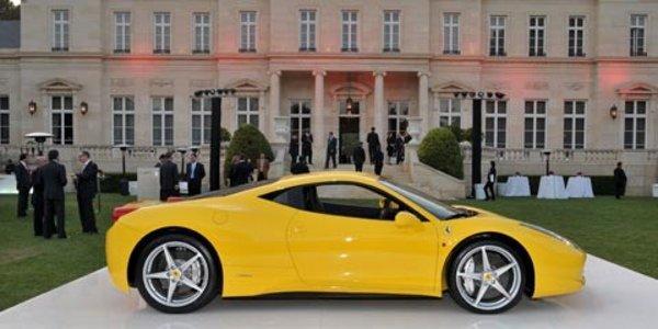 La Ferrari 458 dans Transformers