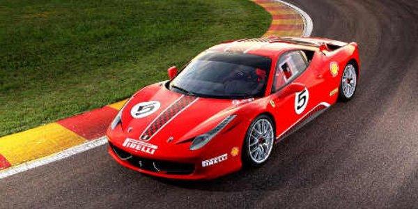 Ferrari 458 Challenge : nouvelles photos