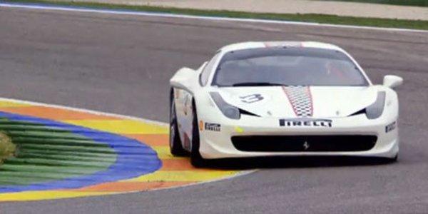 La Ferrari 458 Challenge en vidéo