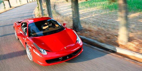 Une Ferrari 458 Spider à Francfort ?