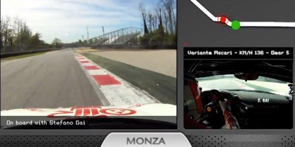 Monza en Ferrari 458 Challenge