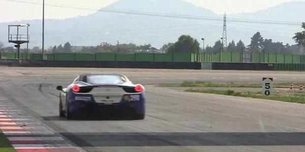 La Ferrari 458 Challenge en images
