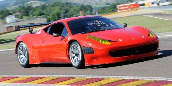 Ferrari présente la 458 Grand Am