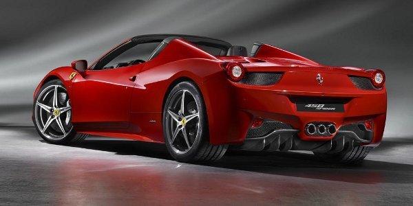 Officiel: Ferrari 458 Spider