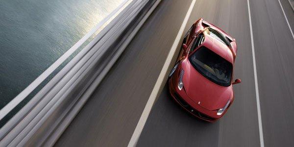 La Ferrari 458 Monte-Carlo approche