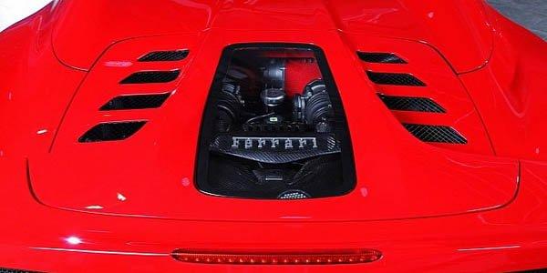 Ferrari 458 Spider par Capristo