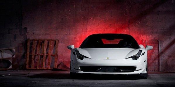 Vossen équipe une Ferrari 458
