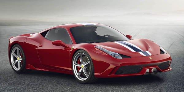Ferrari 458 Speciale : pour la piste