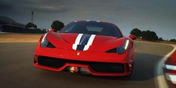 Ferrari 458, la vidéo officielle