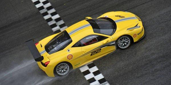 Ferrari 458 Challenge Evo : aéro revue