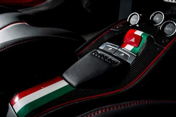 Ferrari F458 Italia Niki Lauda tribute