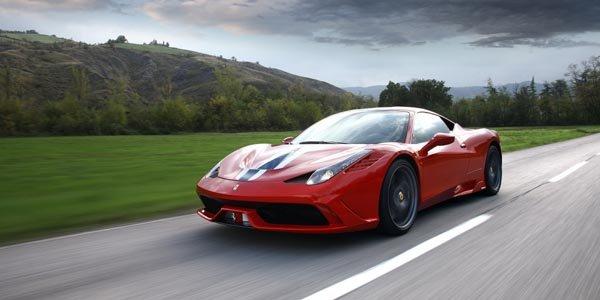 Ferrari 458 Speciale primée par Top Gear